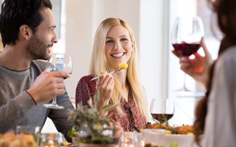 eat what you want - remove aligners during meal times
