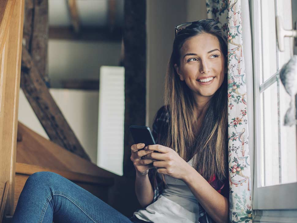 invisalign orthodontics service image woman